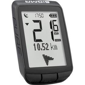 SIGMA SPORT Pure GPS fietscomputer zwart